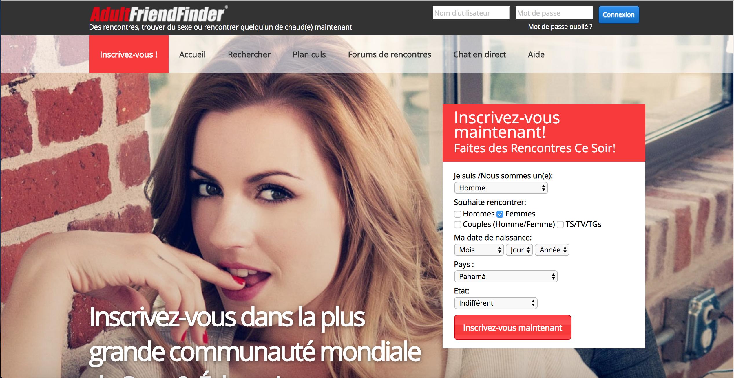 Adultfriendfinder Avis - rencontredesexe.net